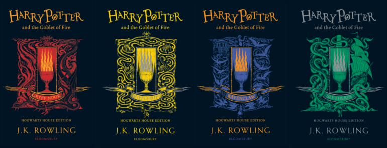 Levi Pinfold covers of Goblet of Fire